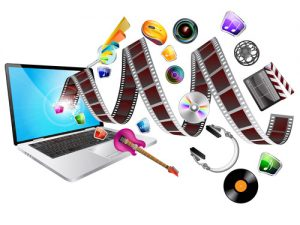This depicts the many forms of multimedia.