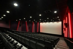A picture of a cinema.