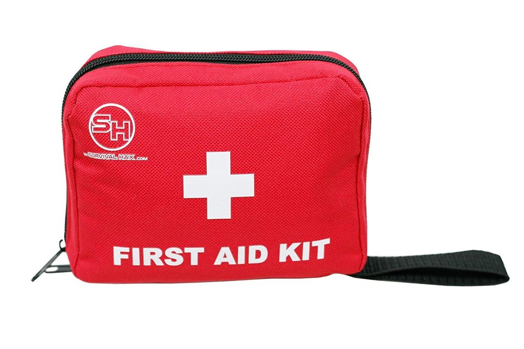 This is an image of a first aid kit, which is something that students in this course will learn how to assemble.