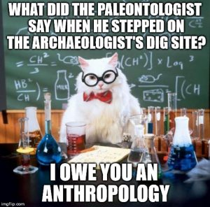 A joke that is kind of related with anthropology