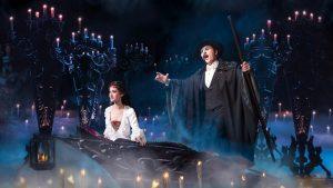 Scene from the Phantom of the Opera.