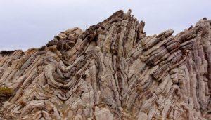 Rocks folding