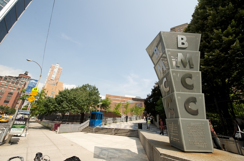 An image of BMCC entrance