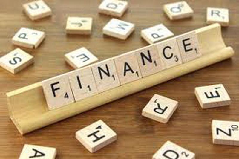 Letters spelling finance