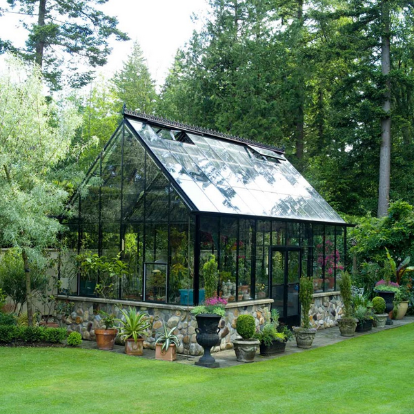 A newly renovated and furnished greenhouse