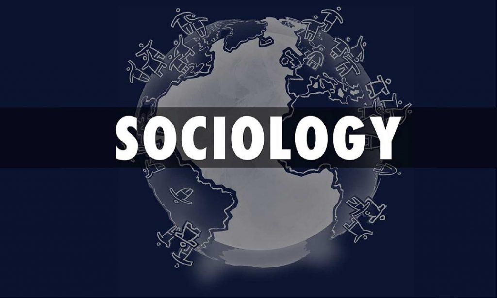 An image of the word sociology.