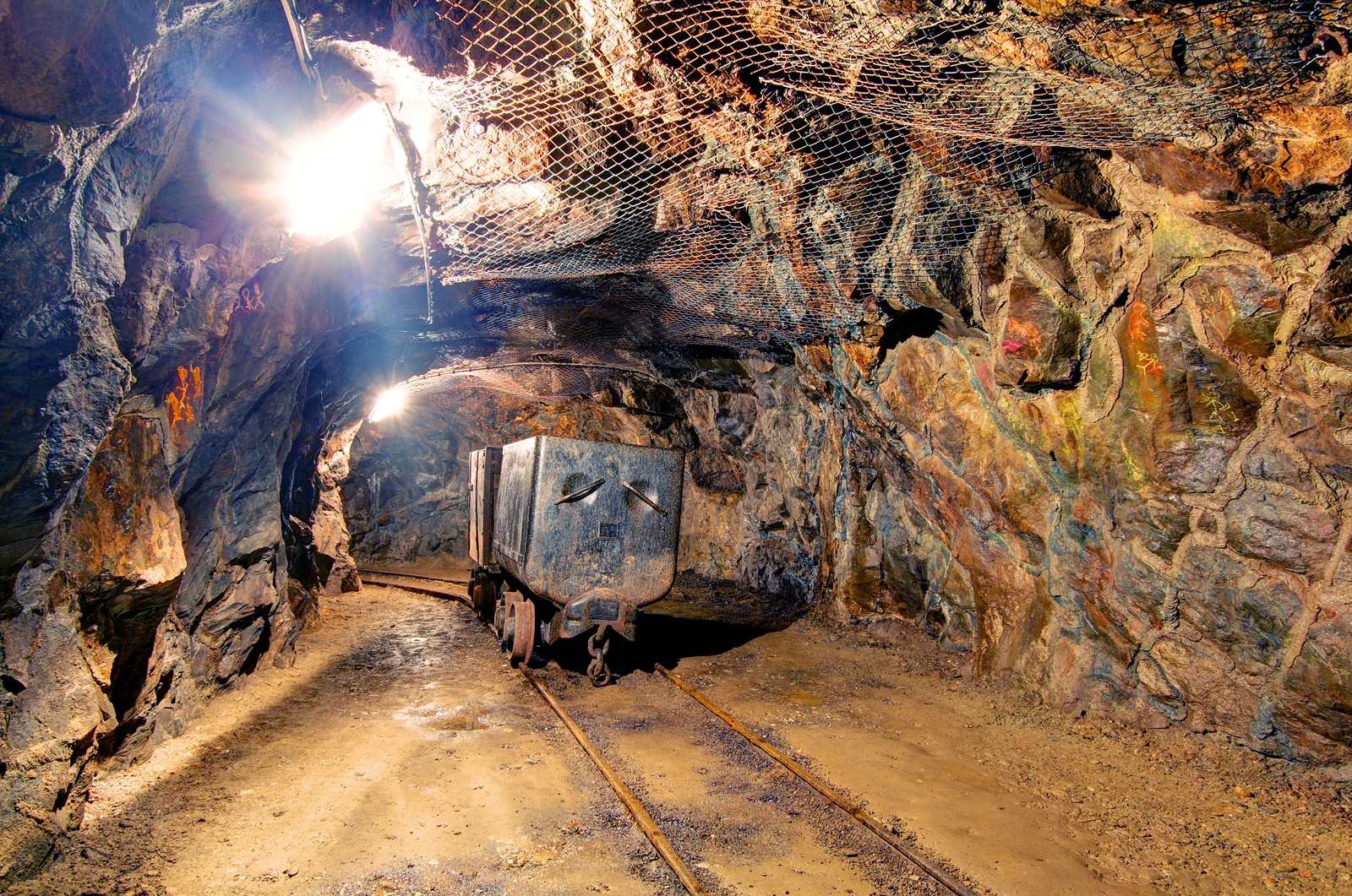 This is a mine.
