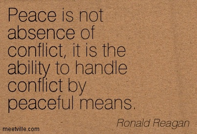 A quote on peace