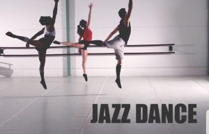 A trio of jazz dancers.