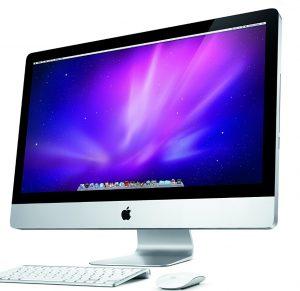 An image of a Mac desktop computer.