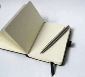 An image of a notebook.