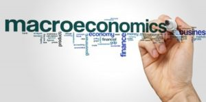An image of the word macroeconomics.