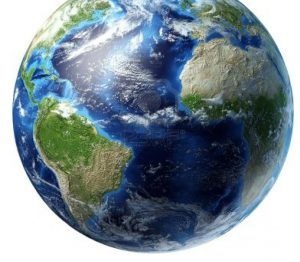 An image of the world.