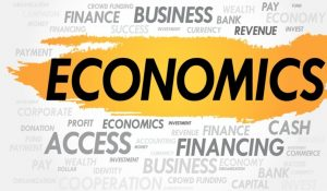 An image of the word economics and its synonyms.