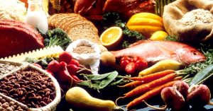 An image of various foods.