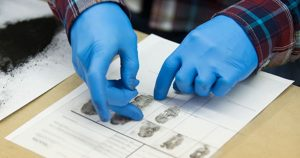 Fingerprinting test