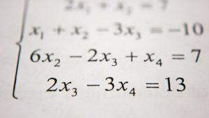An image of an algebraic equation.