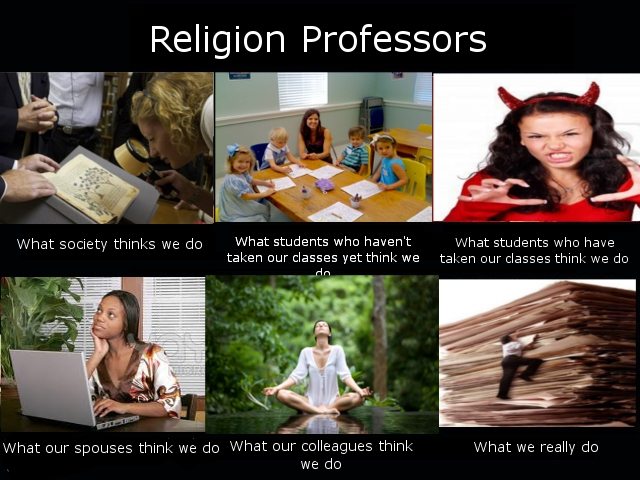 Different perspectives on Religion Professors