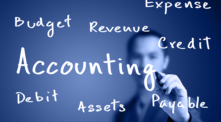 These are key terms in accounting.