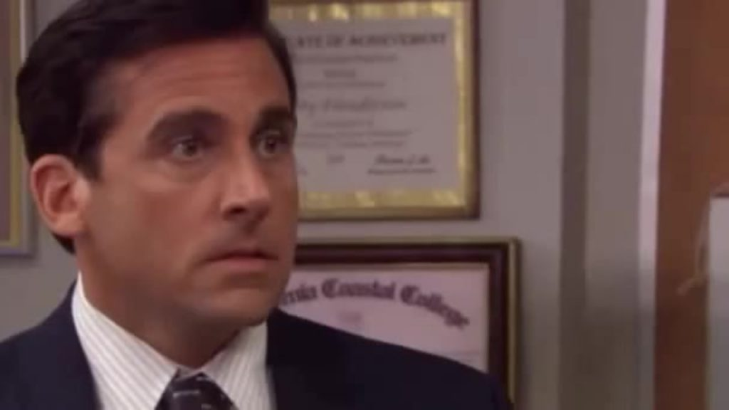 Picture of Michael Scott from The Office