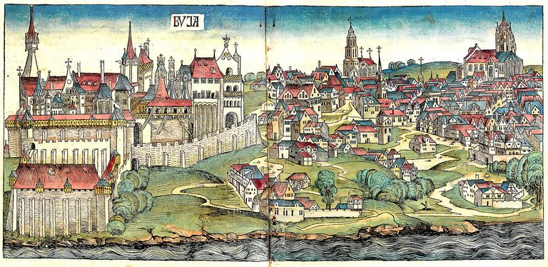 A depiction of the Middle Ages.