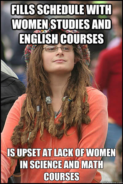 Meme featuring a know it all woman