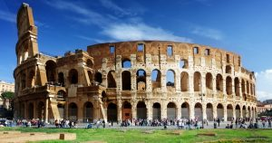 Picture of the Colosseum