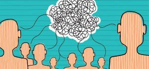 Graphic design of brainstorming