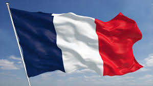 Pictured: a French flag