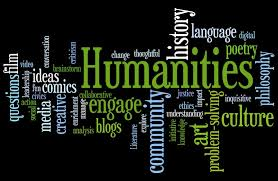 The word humanities with many of its many meanings.