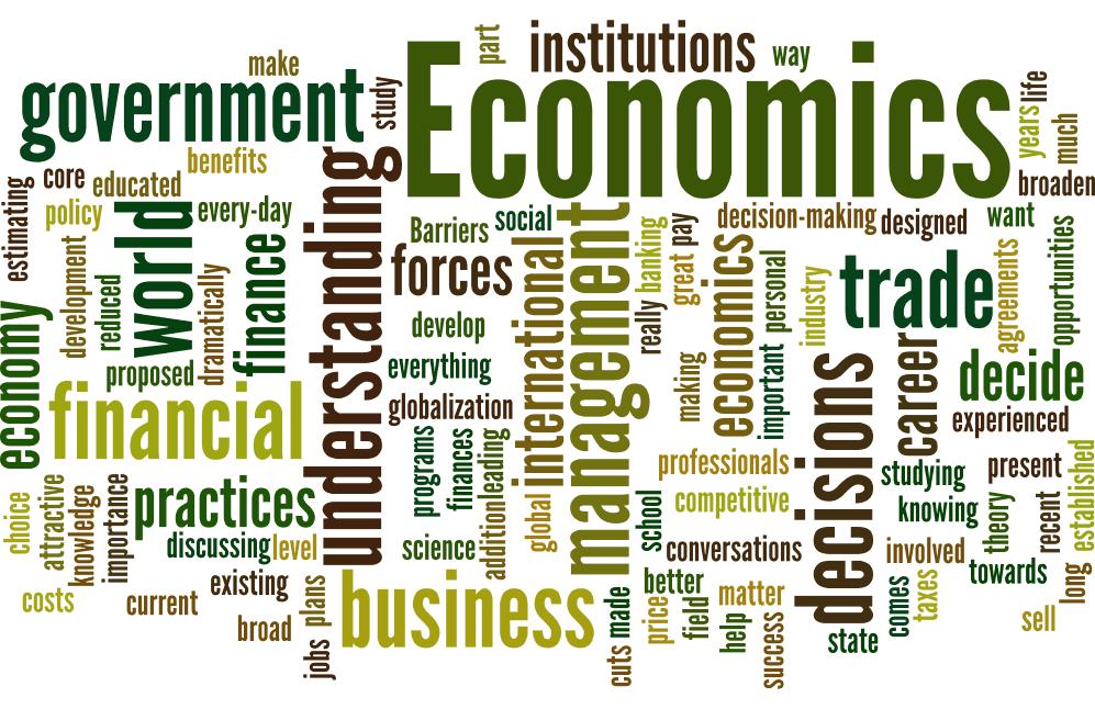 Terms relating to economics