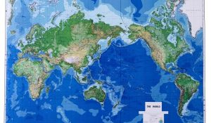 a photo of the map of the world