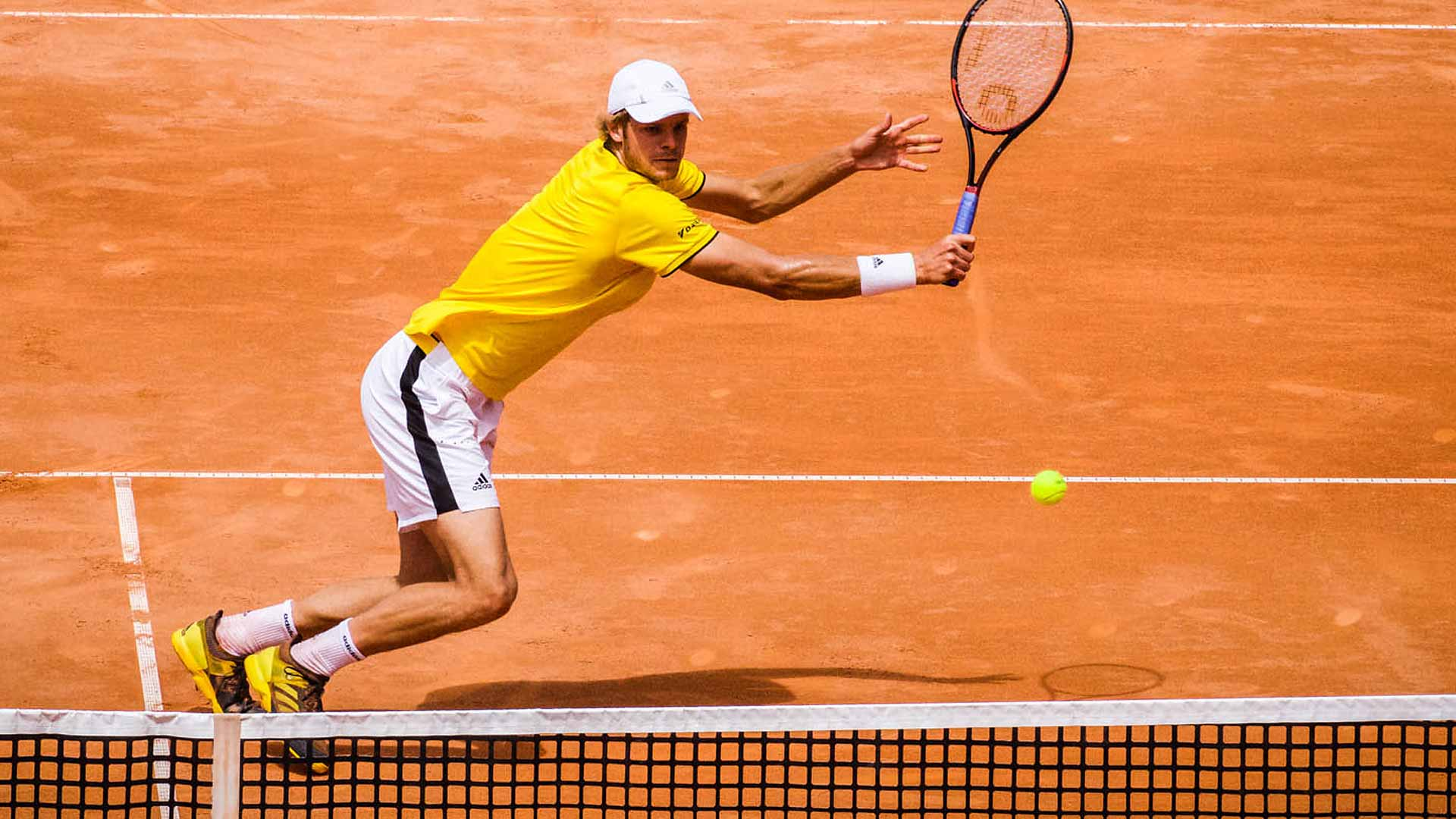This image is of a man playing tennis, and this is the goal for students within this course.