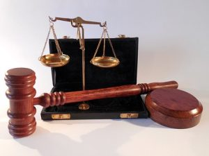 Symbols representing justice