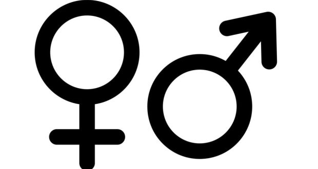 These are the Mars & Venus symbols that represent men and women.