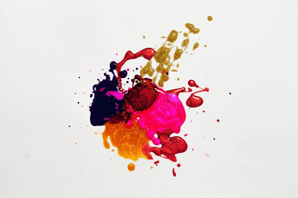 Picture of paint splatters