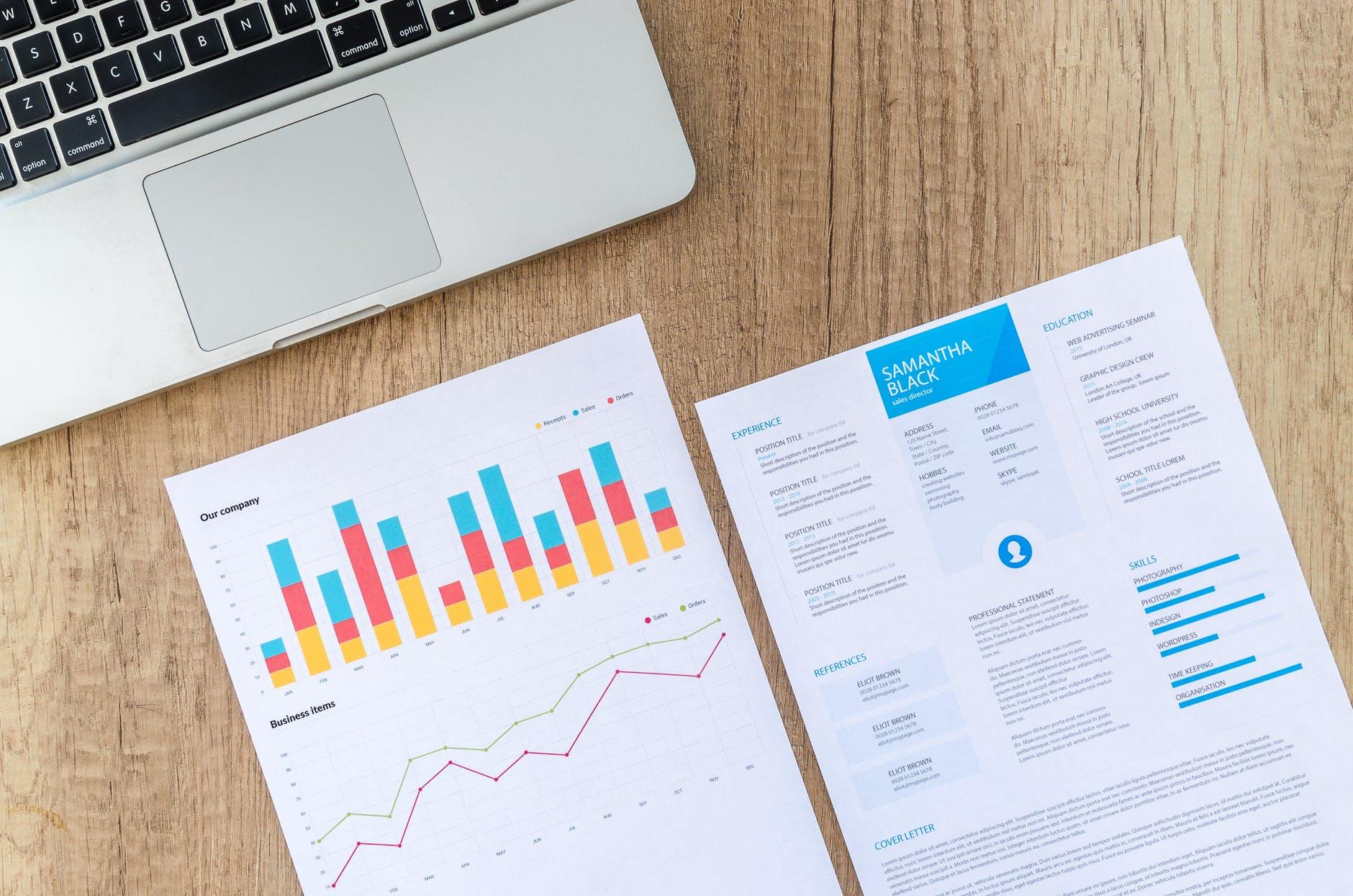 Resume and data sheet
