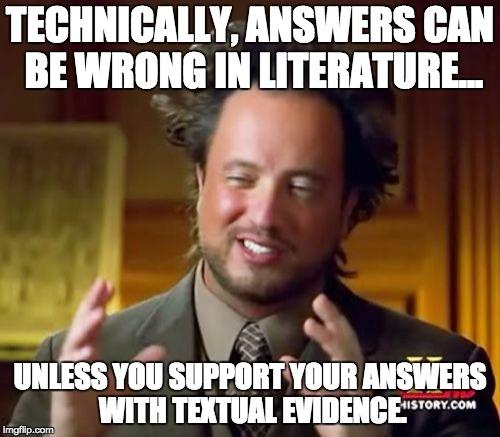 Meme depicting a person explaining