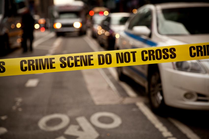 An image of crime scene tape.