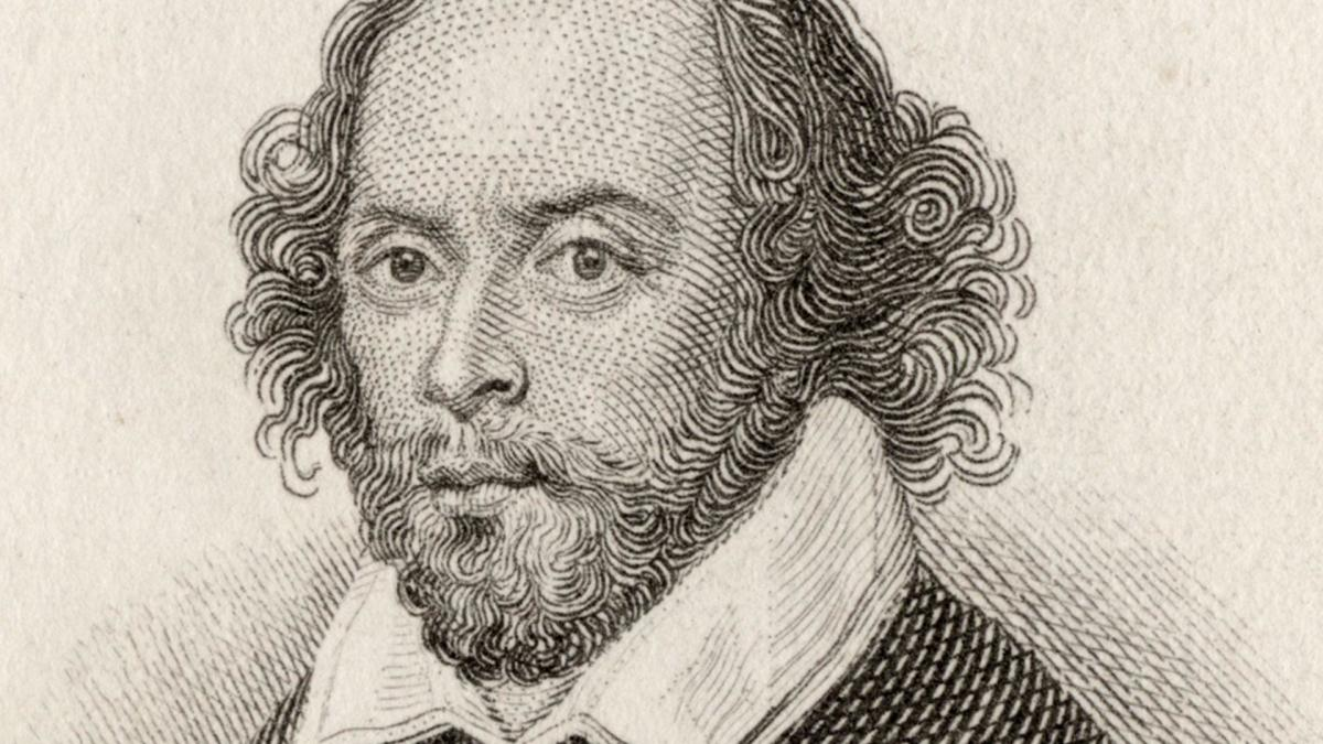 This image is of William Shakespeare, one of the key authors reviewed within this course.
