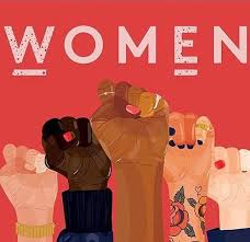 Women united with their fists poster