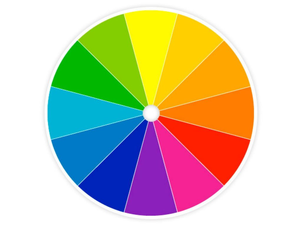 An image of the color wheel.