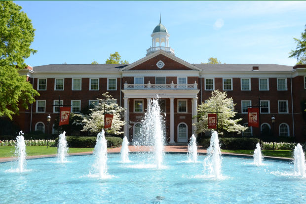 Fountains at Elon University