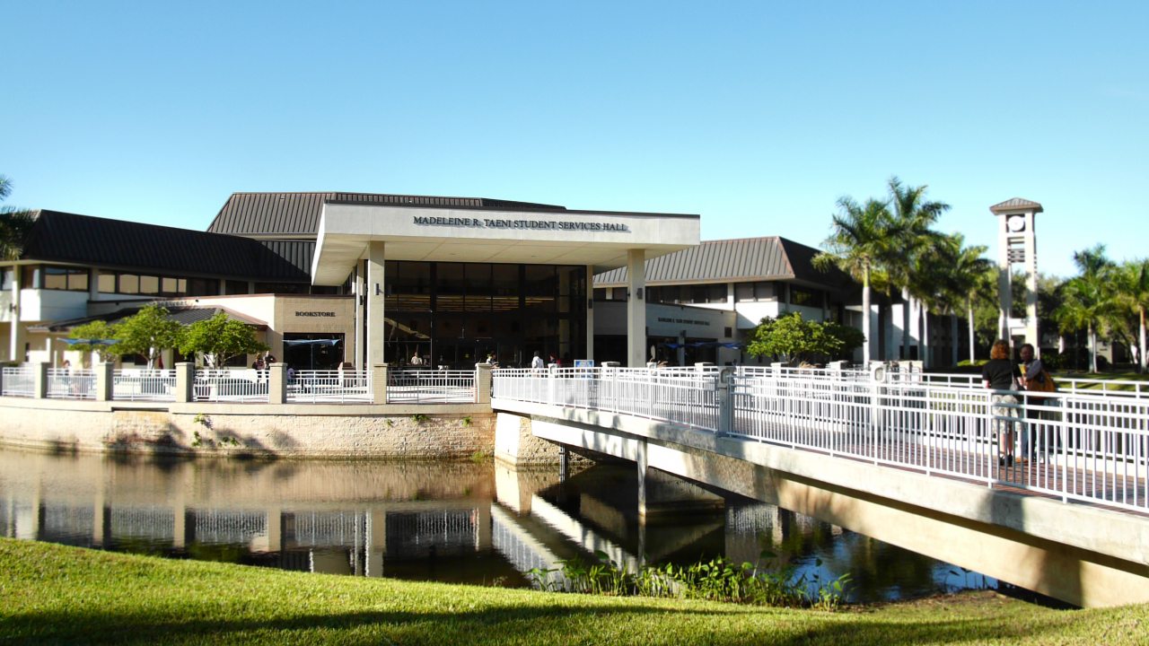 A building of Florida SouthWestern State Collage