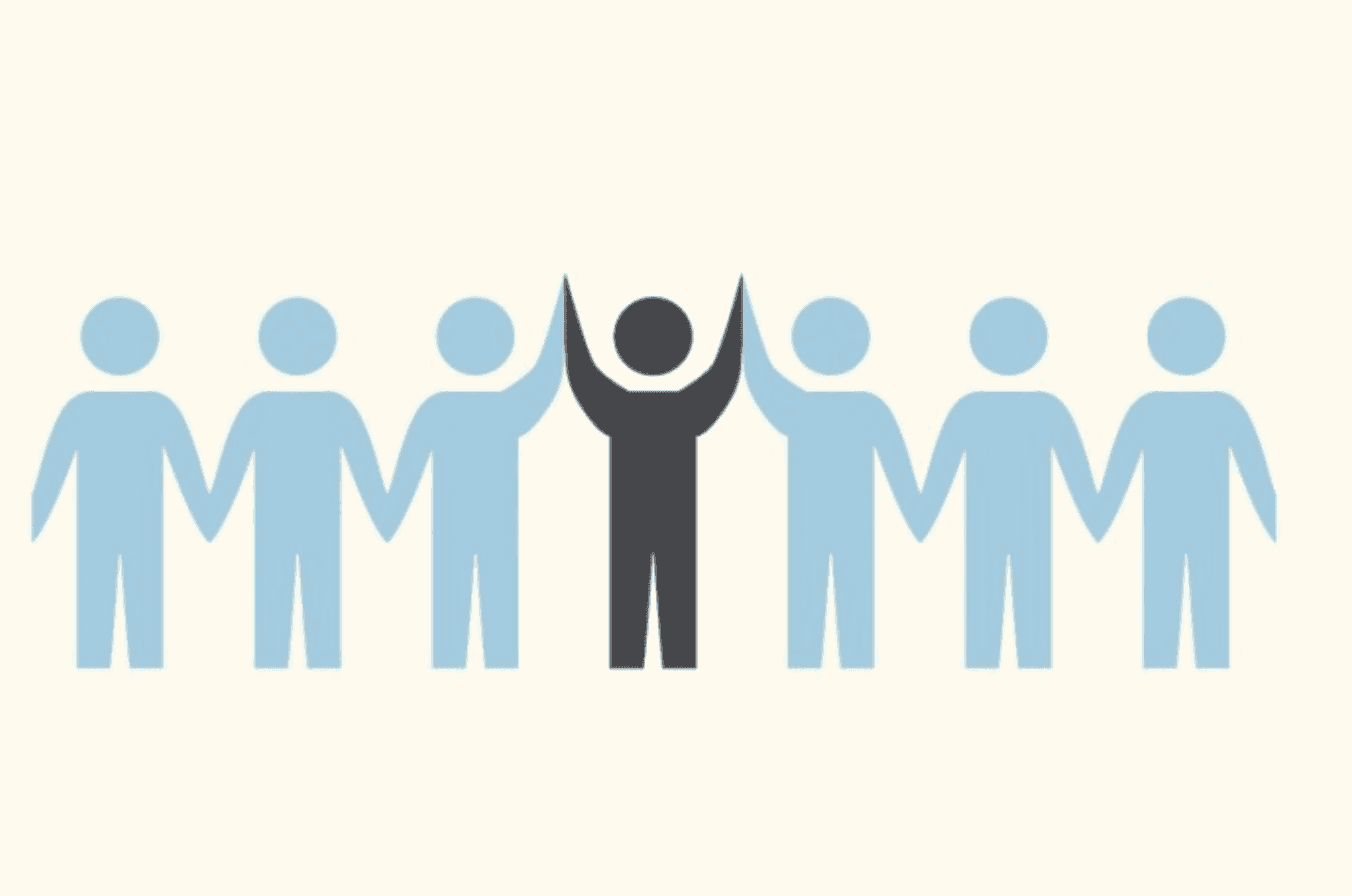 Part of being a leader actually involves a lot of teamwork