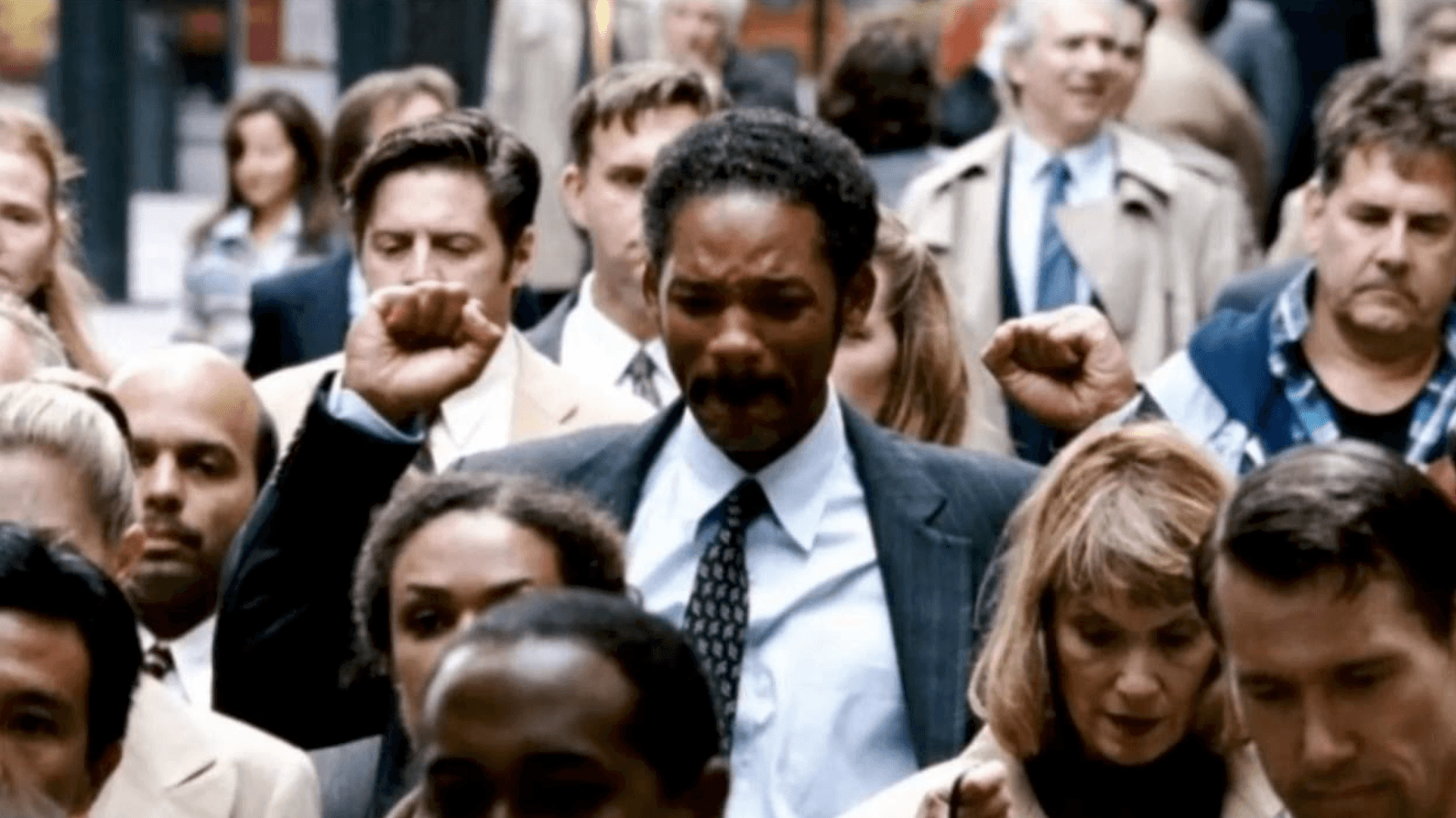 """Will Smith's role in the """"The Pursuit of Happyness"""" as a destitute homeless to a thriving businessman exemplifies the very definition of the American Dream"""