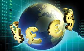 This image portrays the finances across the global economy.