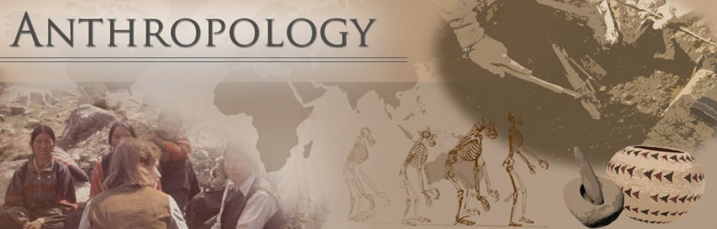 An image of the word anthropology.