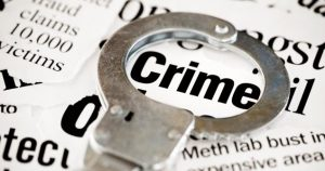 An image of the word crime.