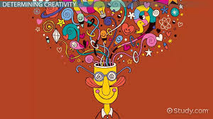 Head with creativity exploding from it